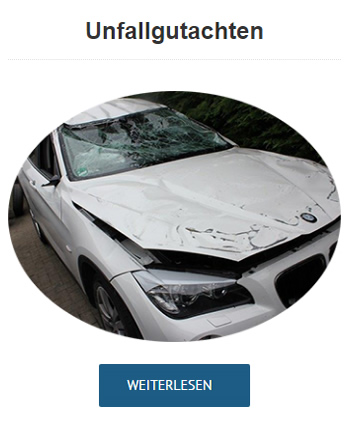 Autos Unfallschadengutachten